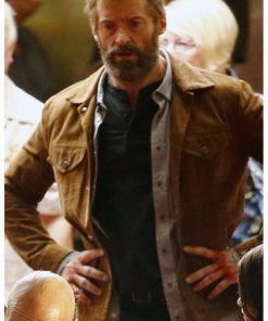 Wolverine 3 Logan Hugh Jackman Leather Jacket