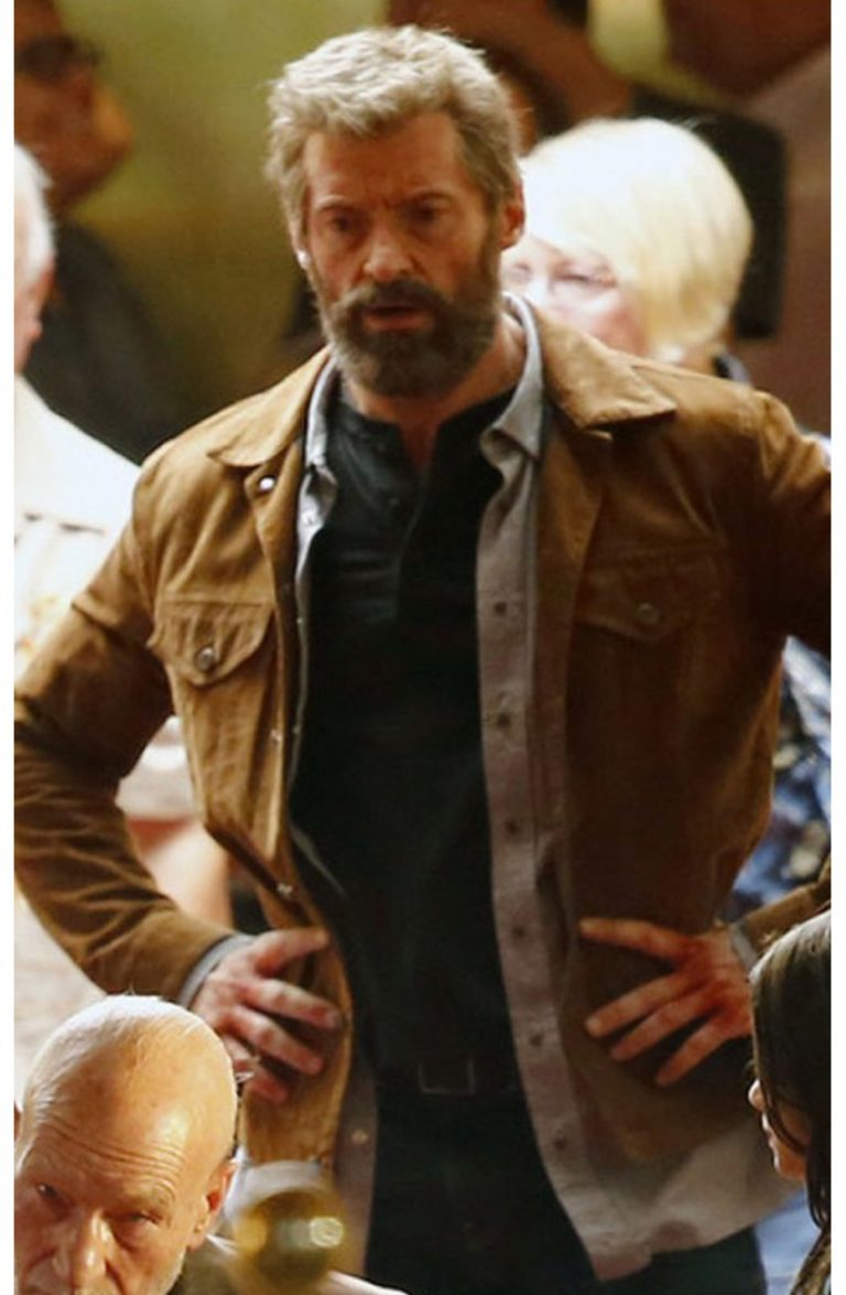Wolverine 3 Logan Hugh Jackman Leather Jacket