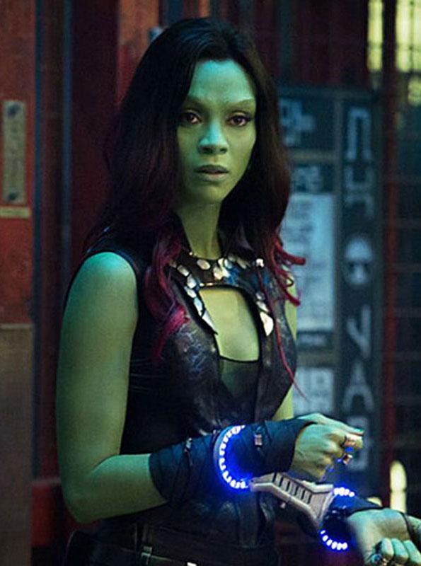 Guardians Of The Galaxy 2 Zoe Zaldana Vest Prostar Jackets