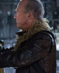 Michael Keaton Vulture Leather Jacket