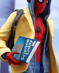peter parker yellow coat