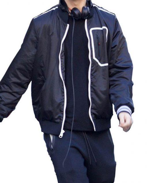 Ansel Elgort Jacket Baby Driver