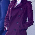 Movie Baby Driver Eiza Gonzalez Trench Coat