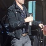 Baby Driver Jon Hamm Leather Jacket