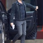 Black Leather Jacket Jon Hamm