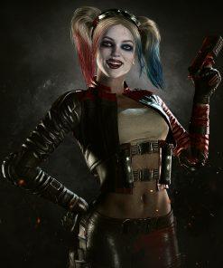 Injustice 2 Harley Quinn Cosplay Jacket
