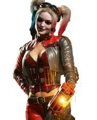Harley Quinn Jacket Vest Cosplay Costume
