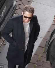 Ryan Rynolds Coat in The Hitman's Bodyguard