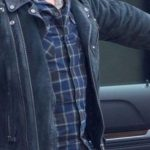 Jon Hamm Suede Leather Jacket