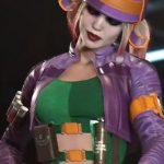 injustice 2 game harley quinn purple jacket