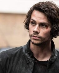 American Assassin Mitch Rapp Black Leather Jacket