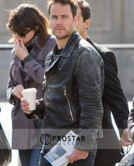 Taylor Kitsch Leather Jacket