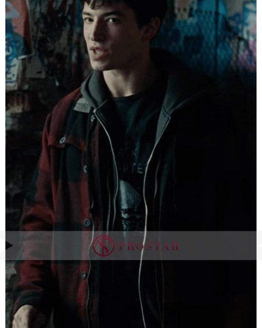 justice league jacket ezra miller