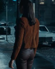Gal Gadot Brown Justice League Jacket