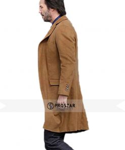 Siberia Keanu Reeves Wool Coat
