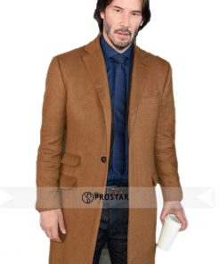 Keanu Reeves Siberia Coat