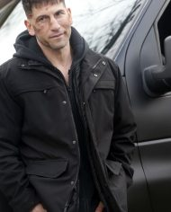 Jon Bernthal Black Cotton Jacket