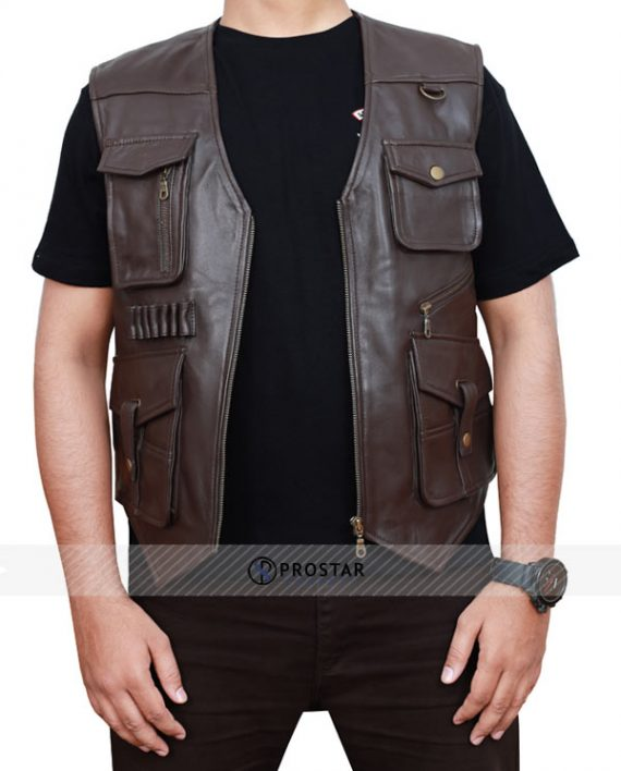 Chris Pratt Jurassic World Fallen Kingdom Vest