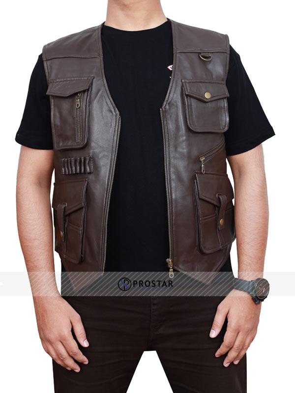 Chris Pratt Jurassic World Fallen Kingdom Vest