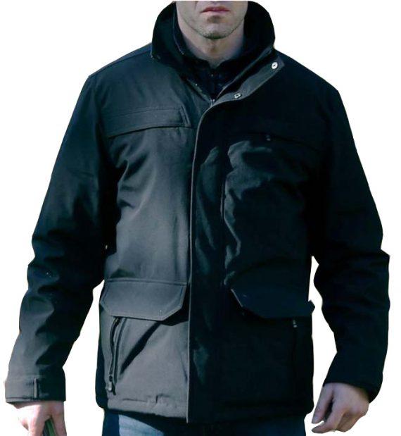 The Punisher Jon Bernthal Black Cotton Jacket