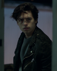 cole sprouse riverdale serpents jacket