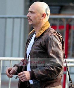 Zeroville James Franco Brown Leather Jacket