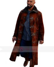 Robin Hood Jamie Foxx Brown Coat