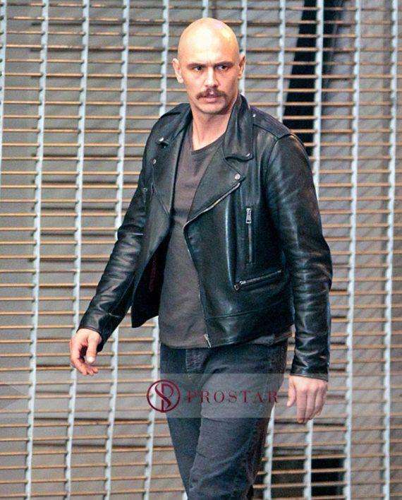 James Franco Zeroville Black Leather Jacket