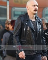 Zeroville Vikar Black Leather Jacket