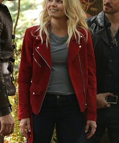 Once Upon A Time Red Suede Jacket