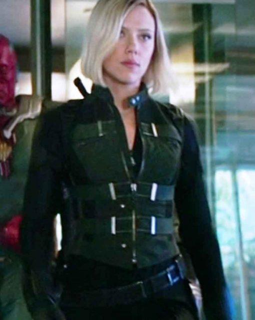 Avengers Infinity War Natasha Romanoff Vest