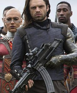 Bucky Barnes Infinity War Jacket