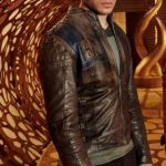 Seg El Krypton Brown Leather Jacket