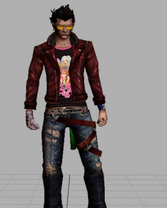 No More Heroes Travis Touchdown Cosplay