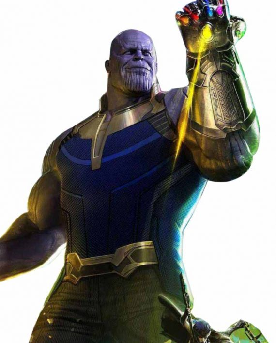 Infinity War Thanos Leather Vest