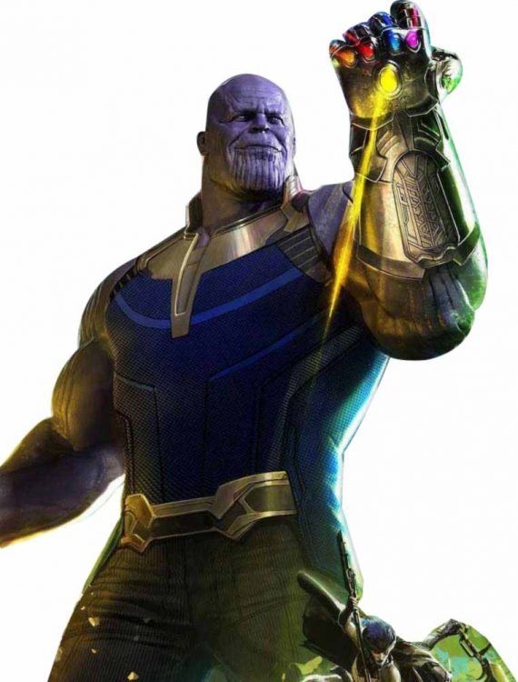 Infinity War Thanos Leather Vest