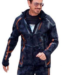 Tony Stark Hoodie Jacket