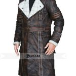Elder Maxson Brown Shearling Coat Fallout 4 Game