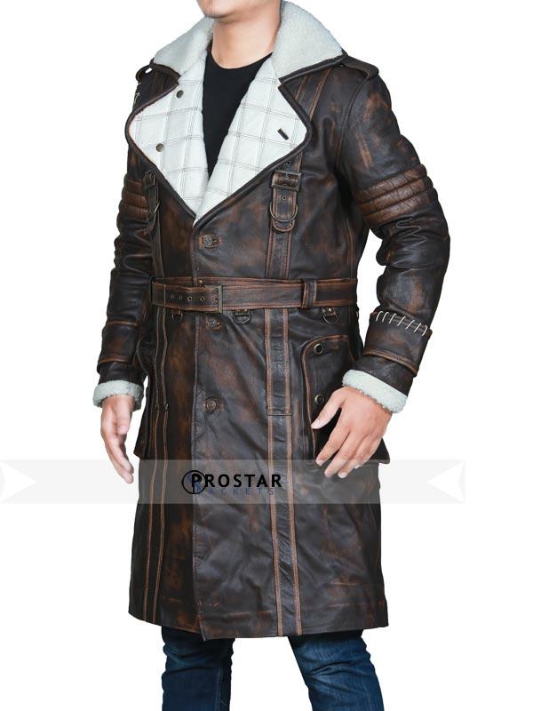 Fallout 4 Elder Maxson Shearling Coat