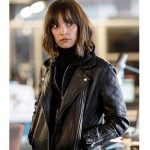 Elaine Shepard Leather Jacket from Rellik TV Series