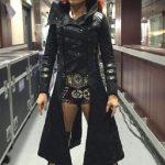 Wrestler Becky Lynch Black Coat