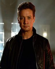 Jeremy Renner TAG movie Leather Jacket
