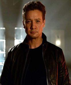 TAG Movie Black Leather Jacket