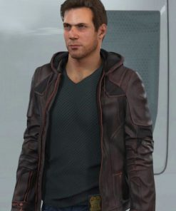Gavin Reed Brown Leather Jacket