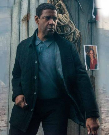 The Equalizer 2 Denzel Washington Wool Jacket