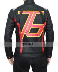 Overwatch Soldier 76 Black Jacket