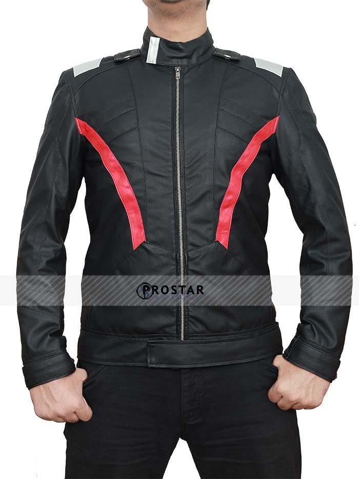 Overwatch Soldier 76 Black Jacket