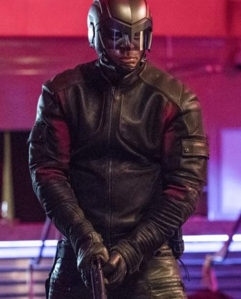Arrow Season 6 John Diggle Leather Jacket