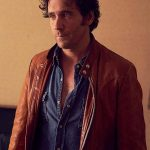 Caught Allan Hawco Leather Jacket