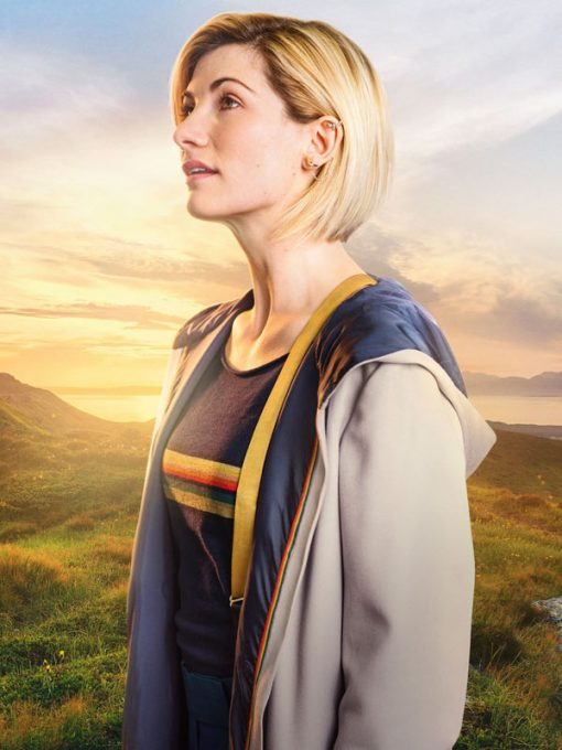 Dr Who The Thirteenth Doctor Jodie Whittaker Long Coat